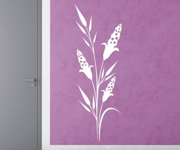 Wandtattoo - Blumenmotiv / Blumenranke | 231