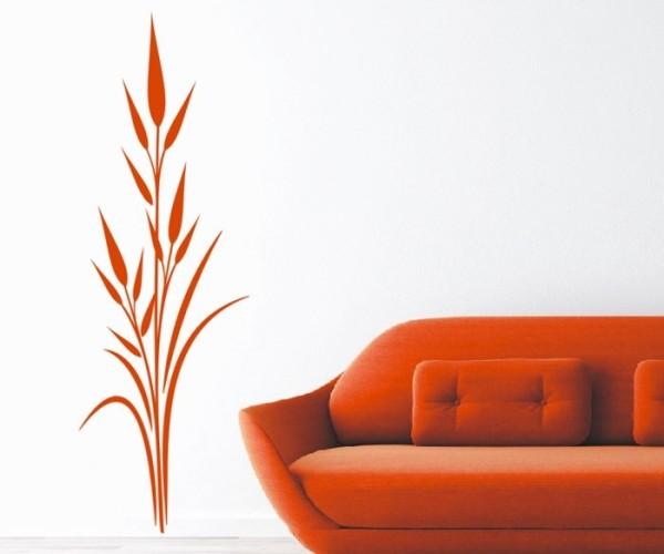 Wandtattoo - Blumenmotiv / Blumenranke - Variante 228