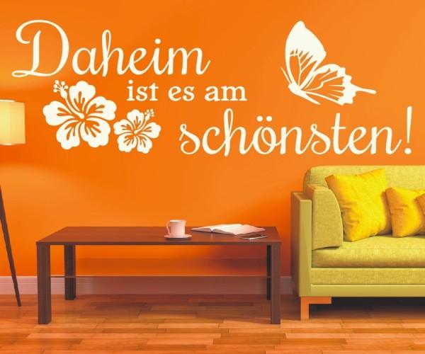 Wandtattoo - Daheim ist es am schönsten! - Variante 5